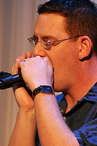 Dan Gage and his blues harp